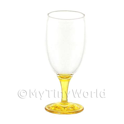 Handmade Wine Glasses Uk - dolls house miniature glassware stunning dolls house
