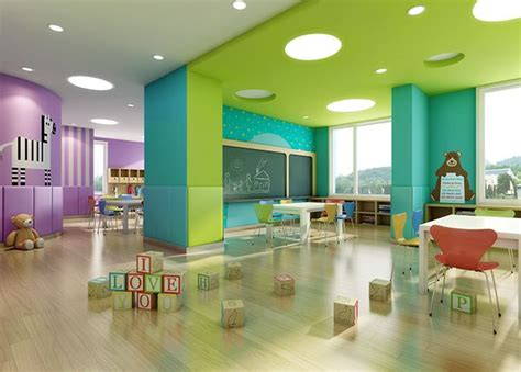 high quality preschool interior design   years kids designed   space design company  nanjing china   early