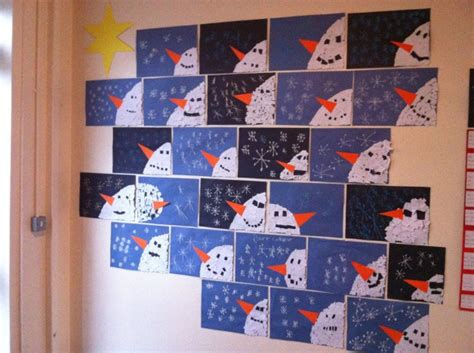 christmas art ideas for second grade class ms o connell s 1st 2nd class projects scoil an spioraid naoimh