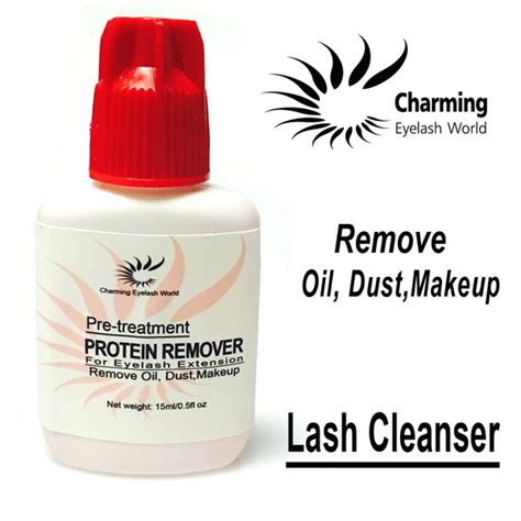Navina Cleanserlash Protein lash cleanser protein remover for eyelash extension 15ml charming eyelash world