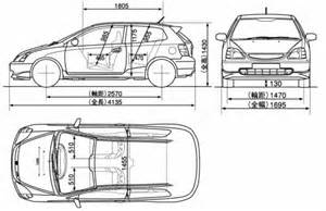 Honda Civic Width The Blueprints Blueprints Gt Cars Gt Honda Gt Honda