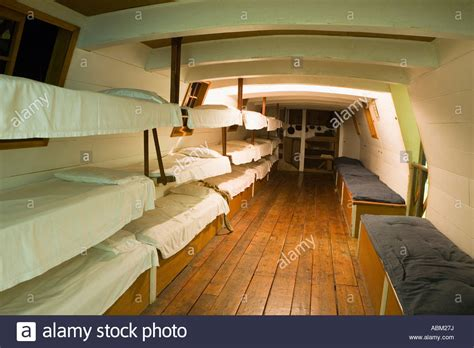 boat interior packet boat interior with bunk beds for men erie canal