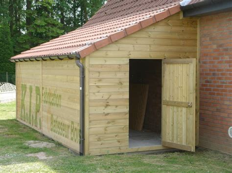 carport en bois 1 pente