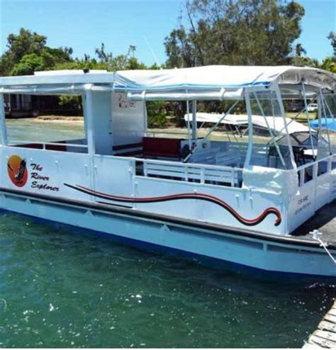 pontoon boats for sale sunshine coast noosa river canal cruises noosaville australia top