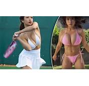 Topless Model Elizabeth Anne Playing Tennis On YouTube