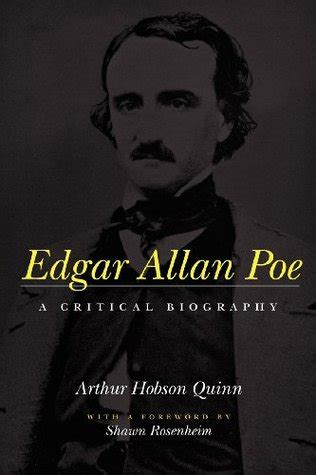 edgar allan poe bio book edgar allan poe a critical biography by arthur hobson