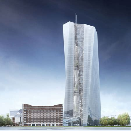 bance centrale europea european central bank by coop himmelb l au dezeen