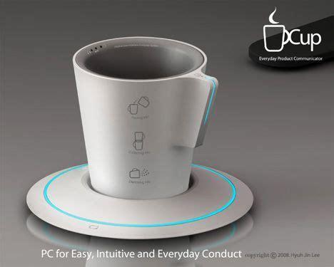 yanko design mug quot the cup quot computer by hyuh jin lee hyeroung choen