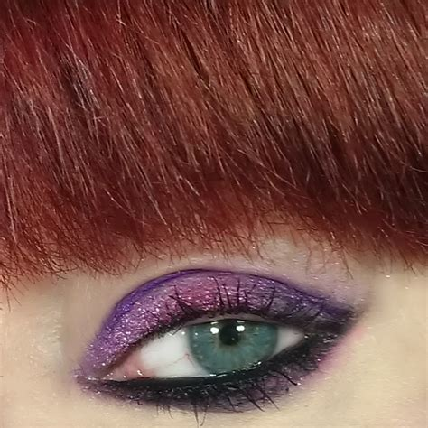 Mba Cosmetics Glitter Eyeshadow Palette by Kats Colourings Eotd Mba Cosmetics Pink Glitter
