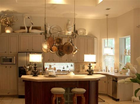 decor above kitchen cabinets ideas for decorating above kitchen cabinets slideshow