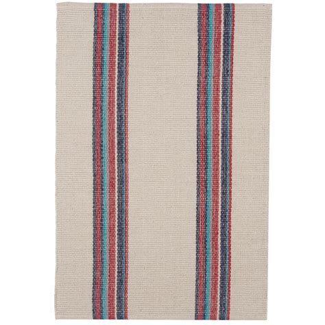 Striped Kitchen Rug Caravan Striped Cotton Dhurrie Kitchen Rug 2x3 Save 58