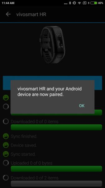 vivosmart reset bluetooth mi 5 by xiaomi and vivosmart hr by garmin compatibility