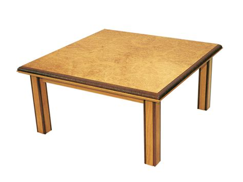 Handmade Coffee Tables - handmade coffee table in burr oak makers eye