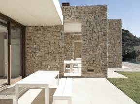 house wall captivating modern home in monasterios spain