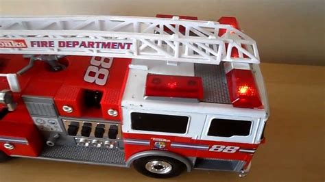 tonka fire truck toy tonka 2002 toy fire engine brigage sounds youtube