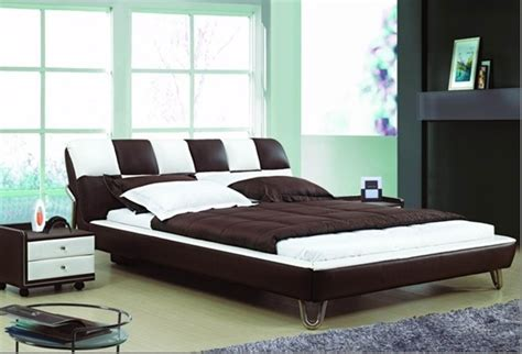 new bed design new design for leather bed home garden design
