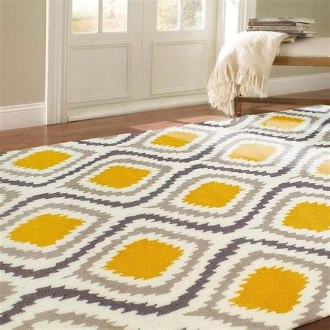 and yellow rug nuloom handmade modern grey and yellow ikat rug