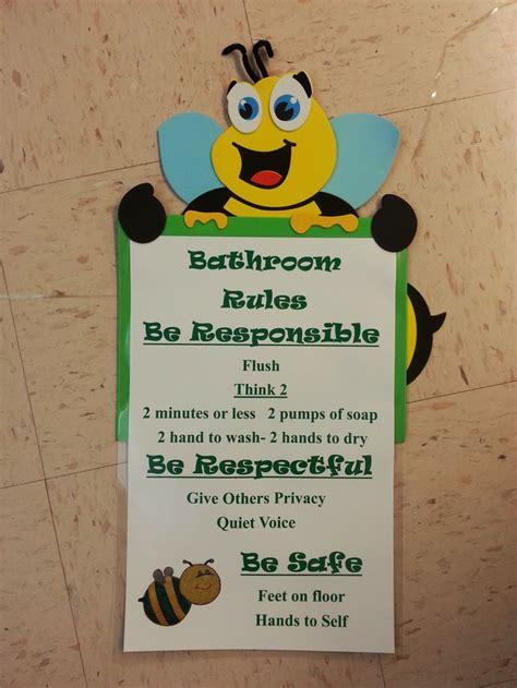 School Bathroom Laws Pbis Bathroom Preschool Classroom Pinterest Bathroom Preschool And Bathroom