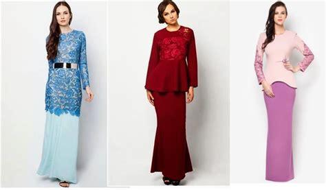 Dress Klasik dress moden lace images