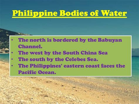 bodies of water list bodies of water in the philippines by group 2