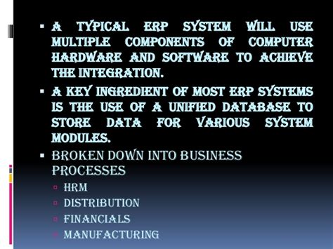 Erp Mba Notes Pdf by Enterprise Resource Planning
