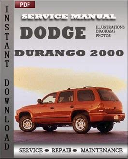 service repair manual free download 2001 dodge durango windshield wipe control dodge durango 2000 free download pdf repair service manual pdf