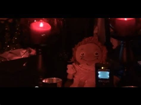 The Ghost Of Annabelle haunted annabelle the doll ghost box session