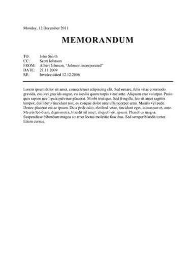 how to write a memo template memo format bonus 48 memo templates