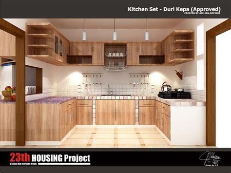 Design Kitchen Set by Duri Kepa Kebon Jeruk Kitchen Set 4bedesign