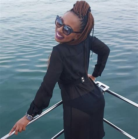 phindile from mvhangos pictures after the durban july