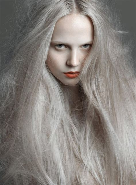 gray skin color pale silver hair pale skin vakkert h 229 r