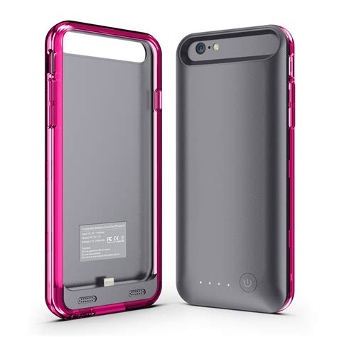 Battery Case For Iphone 6 Power Bank Case With Mfi