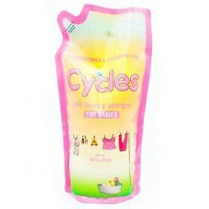 Cycles Liquid Refill Pack 800ml laundry room neat idea for liquid detergent