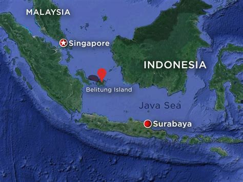 missing airasia jet   search area abc news