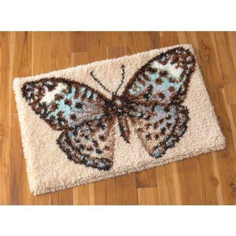 latch hook rug kits fluttering wings latch hook rug kit handmade rugs i like