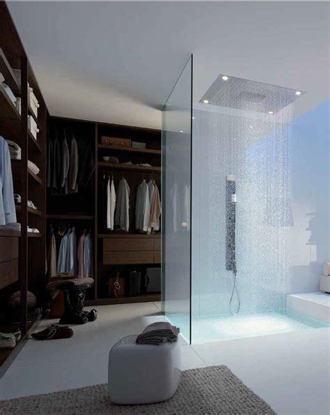 Bathroom Walk In Closet Designs by Walk In Closet With Shower Inside Myhouseidea