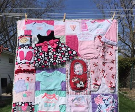 clothes quilt pattern diy baby clothes memory quilt pattern video tutorial