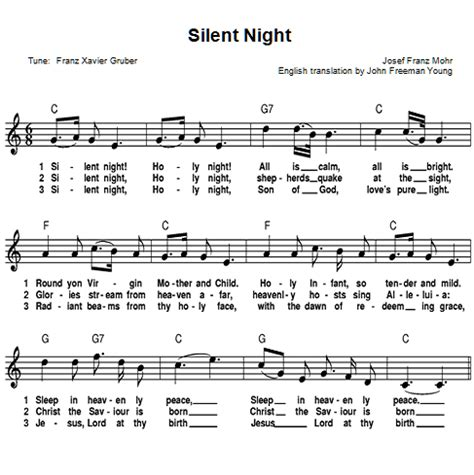 printable lyrics to silent night silent night lyrics printable wowkeyword com