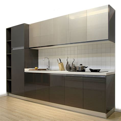 acrylic kitchen cabinets 2016 customized pvc foil kitchen cabinets kitchen cabinet