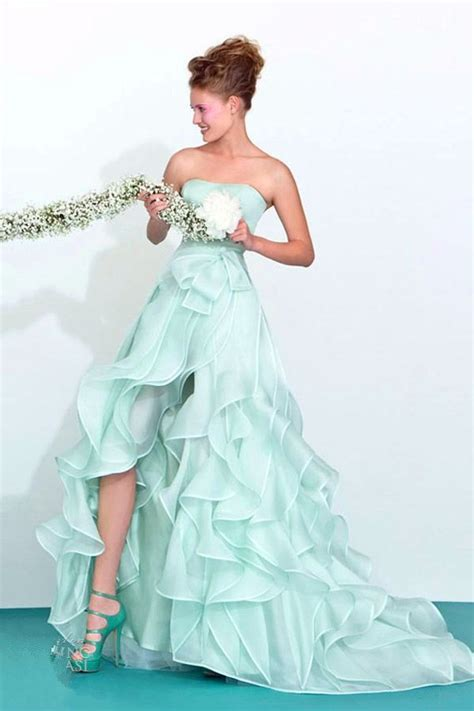 light green color wedding dresses color wedding dresses