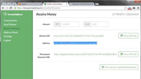 bitcoin green address tutorial bitcoin magyarul konyhai eszk 246 z 246 k