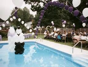 wedding pool decoration ideas swimming pool wedding decorations ideas home constructions