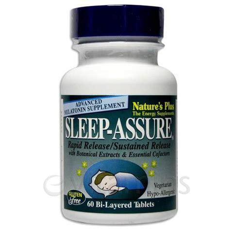 Assure Pkus Detox by Nature S Plus Sleep Assure 60 Tabs Evitamins