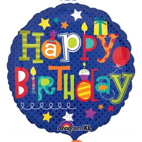 Balon Foil Bintang Size 18 Inch 45 Cm Warna Hitam happy birthday balloons foil helium balloon 43cm