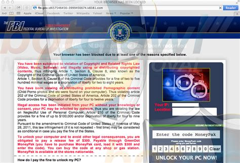 remove fbi cybercrime division virus 300 scam step by step unlock fbi 300 rachael edwards