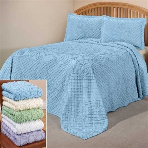 lightweight comforter for summer the martha chenille bedding bedspread only lightweight