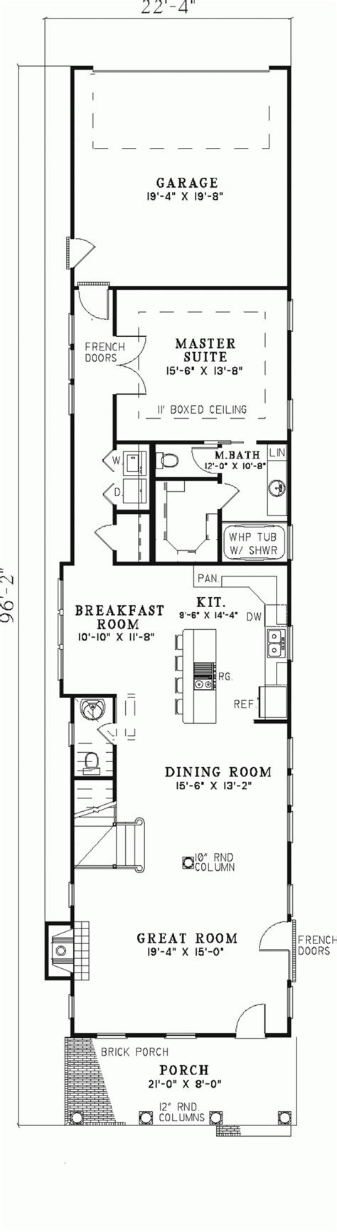 rectangular 2 story house plans rectangle house plans numberedtype