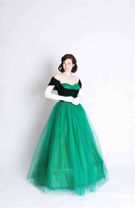 1940s formal dresses prom dresses cocktail dresses history vintage 1940s formal dress 40s prom gown emerald green