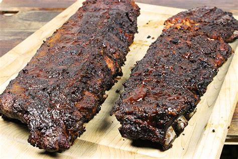 How Do You Smoke A Rack Of Ribs by Fall The Bone Pork Ribs Succulent Summer Supper