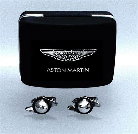 Aston Martin Cufflinks by A Pair Of Silver Aston Martin Cufflinks From Scarab Antiques